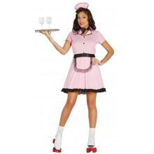 Rockabilly Rollergirl Pink