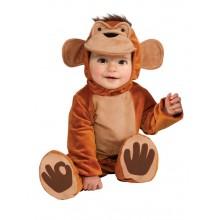 Funky Monkey Apa Maskeraddräkt Barn