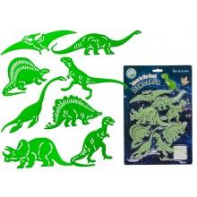 Självlysande Dinosaurier