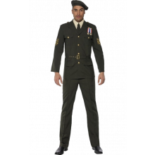 Militärofficer Kostym