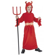 Djävul Barn Maskeraddräkt