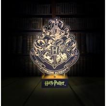 Harry Potter Lampa Hogwarts Crest
