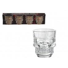 Shotglas Dödskalle 4-pack