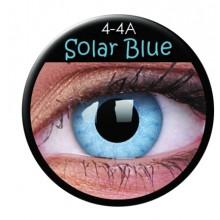 Färgade linser crazy solar blå