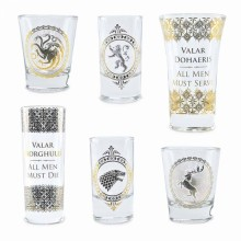Game Of Thrones Shotglas Premium 6-pack