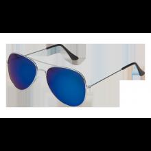 Solglasögon Pilot Spegelglas Blå