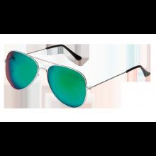 Solglasögon Pilot Spegelglas Grön