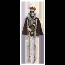 Dekoration Skelett Krigarkung