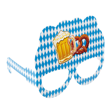 Partyglasögon Oktoberfest 10-pack