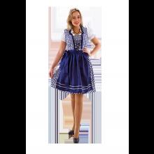 Klänning Oktoberfest Deluxe Blå
