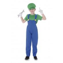 Rörmokare Barn Grön