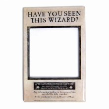 Harry Potter Fotoram Med Magnet Wizard