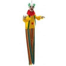 Hängande Clown Med Ljud & Ljus