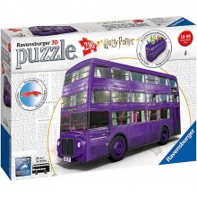 Harry Potter 3D Pussel Knight Bus