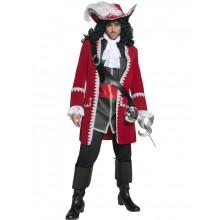 Autentisk Piratkapten-dräkt