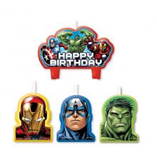 Ljus Avengers 4-pack