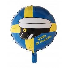 Folieballong Grattis Till Studenten