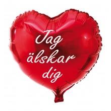 Folieballong Jag Älskar Dig