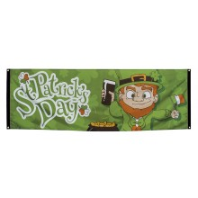 Banderoll St Patricks Day 74x220 cm