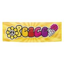 Banderoll Peace 60-tal 74x220 cm