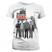 The Big Bang Theory Cast Dam T-Shirt