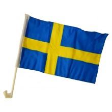 Bilflagga Sverige 2-pack