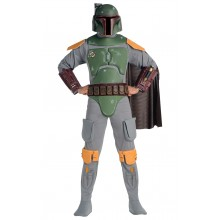 Boba Fett Star Wars Maskeraddräkt Vuxen Deluxe