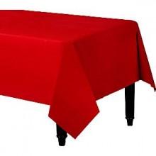 Bordsduk Röd Plast