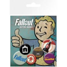 Fallout Bagdes 6-pack