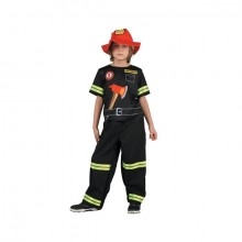 Brandman Maskeraddräkt Barn