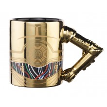 Star Wars Mugg Med 3D-Arm C-3PO
