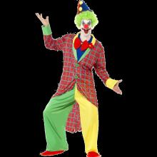 Cirkusclown-dräkt deluxe