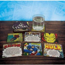 Marvel Comics Drinkunderlägg 20-pack