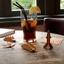 Drinkunderlägg Bygg Egna Modeller