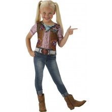 Cowgirl T-shirt Maskeraddräkt Barn