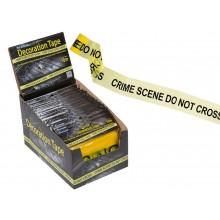 Avspärrningsband Crime Scene