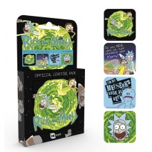 Rick And Morty Drinkunderlägg 4-pack