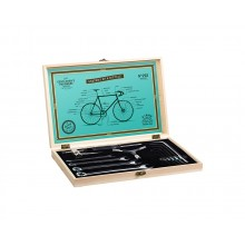 Cykelverktyg I Trälåda