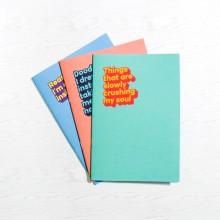 Cyniska Anteckningsböcker 3-pack