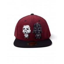 Star Wars Darth Vader & Stormtrooper Pixel Snapback Keps