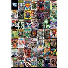 DC COMICS MONTAGE POSTER