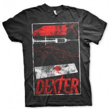 Dexter Signs T-Shirt (Svart)