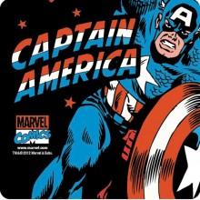 Captain America Drinkunderlägg 6-pack