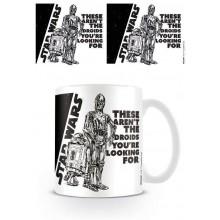 Star Wars Mugg Droids