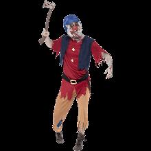 Zombiedvärg Maskeraddräkt