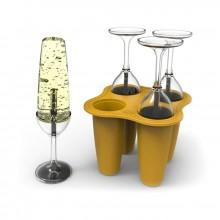 Isglassformar Champagneglas