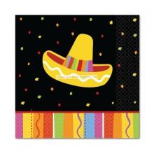 Servetter Sombrero Fiesta 16-pack