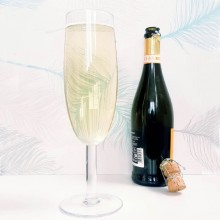 Gigantiskt Champagneglas