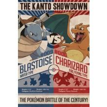 Pokémon Red V Blue Poster 61 x 91x5cm