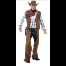 Cowboydräkt Vuxen